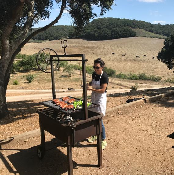 rancho san julian grilling