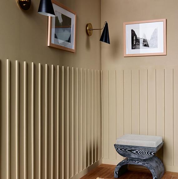 wall vertical lattice decor