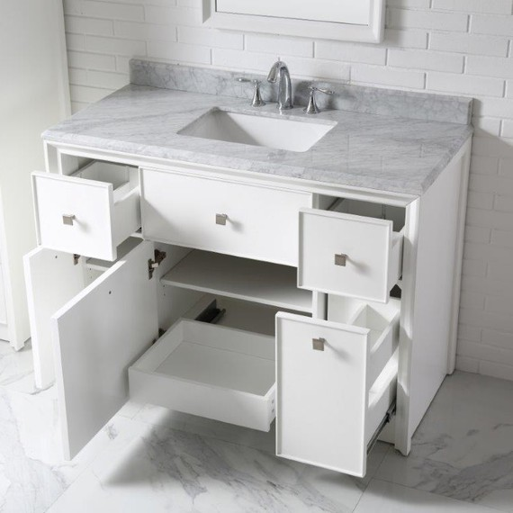 white home depot bath vanity - Bathroom Vanities Home Depot