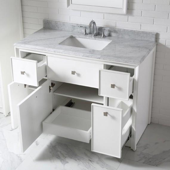 Beau White Home Depot Bath Vanity