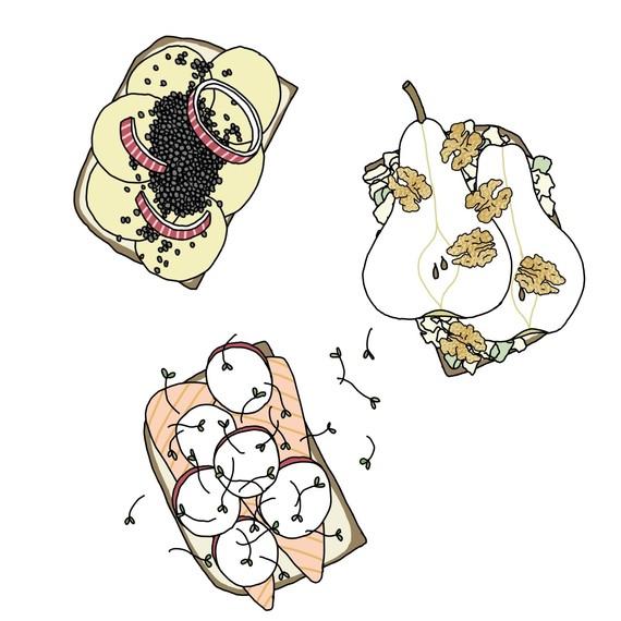 smorgasbord-breads-open-faced