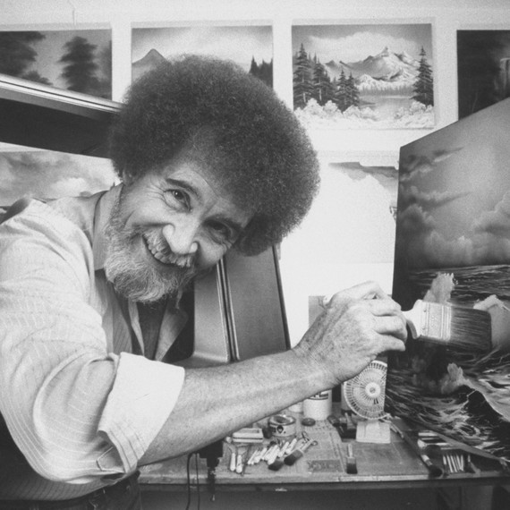 Bob Ross and The Joy of Painting