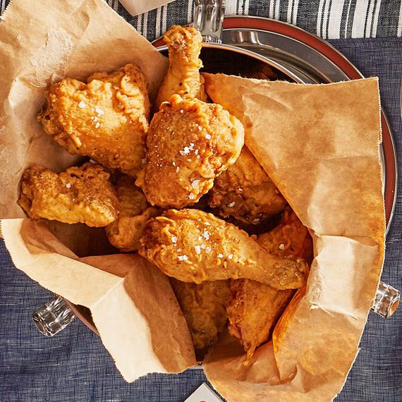 crispiest fried chicken
