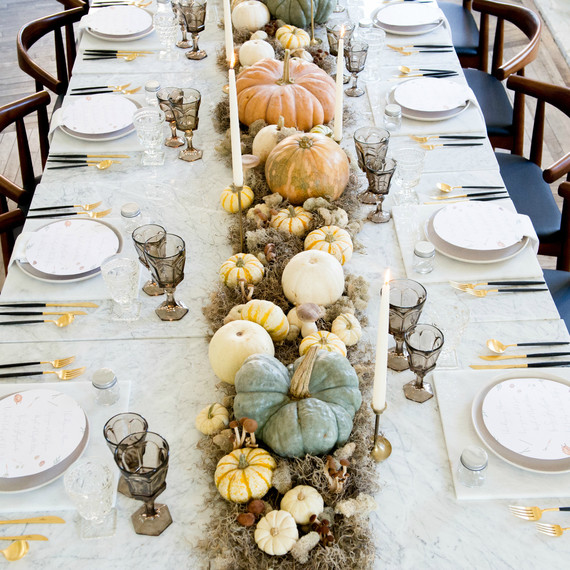 S Modern Thanksgiving Tablescape