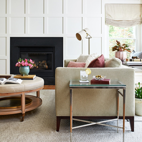 maryland home makeover after taylor family room merch