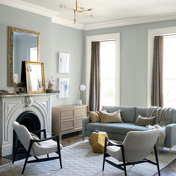 These are the most popular living room paint colors for - Living room colours to go with grey ...