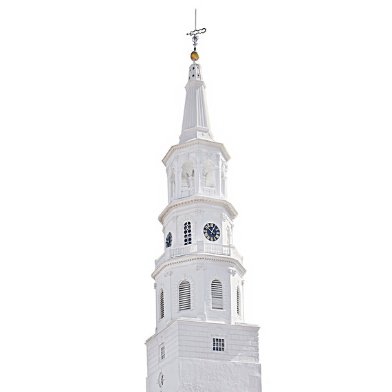st michaels church steeple charleston