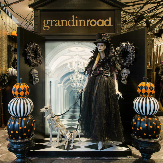 Grenadine Road's Halloween pop-up shop at Macy's in Herald Square