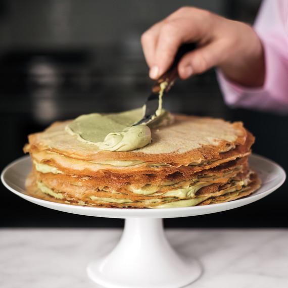 Green Tea Crepe Cake How To 088 D112201 Jpg