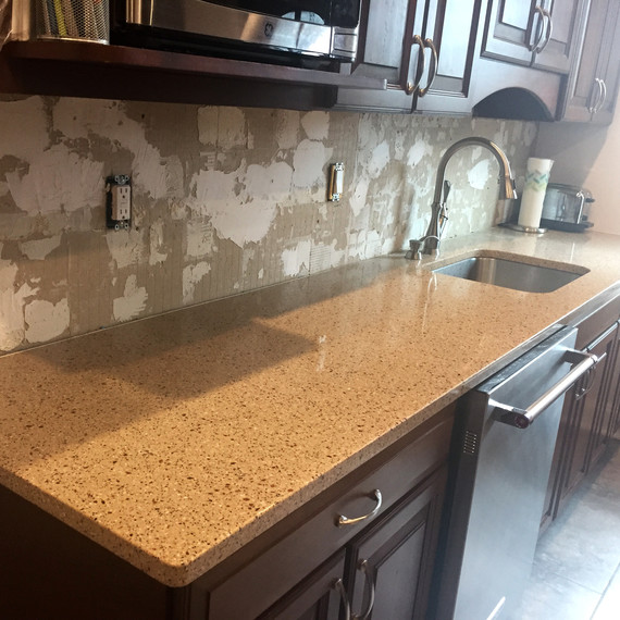 kitchen renovation counter