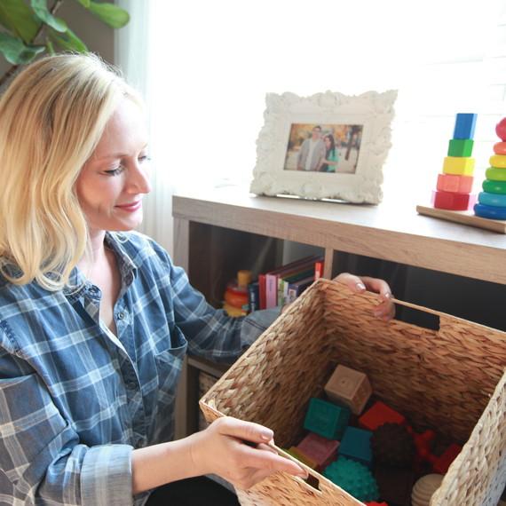 safe home nursery storage