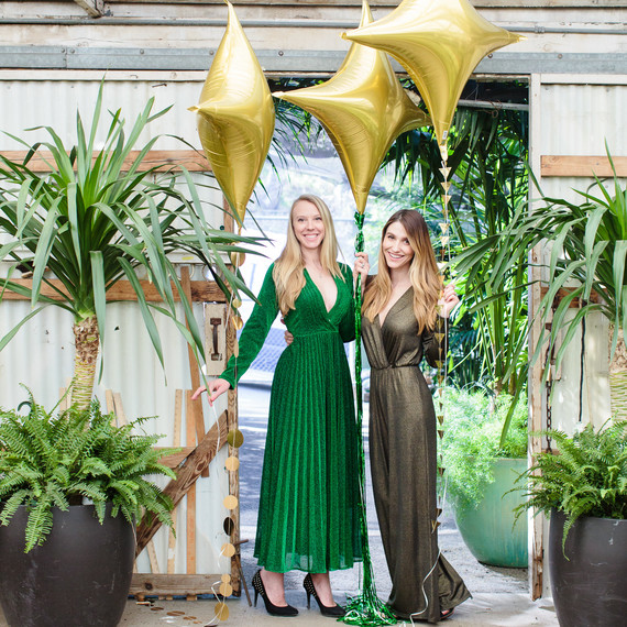 A St  Patrick's Day Party Hosted in a Gorgeous Greenhouse