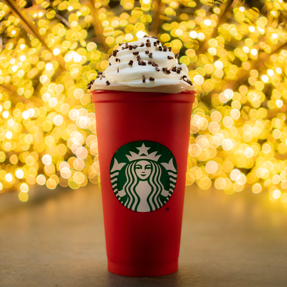 Hurry! Starbucks is Giving Away Free Reusable Holiday Cups