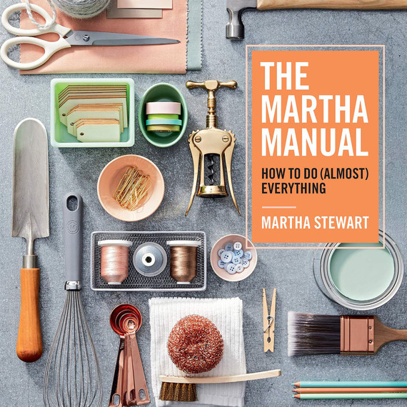 the martha manual book cover merch