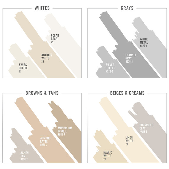 Behr Just Made Choosing The Perfect Neutral Paint So Much