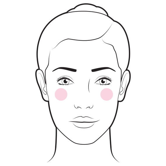 blush natural glow illustration