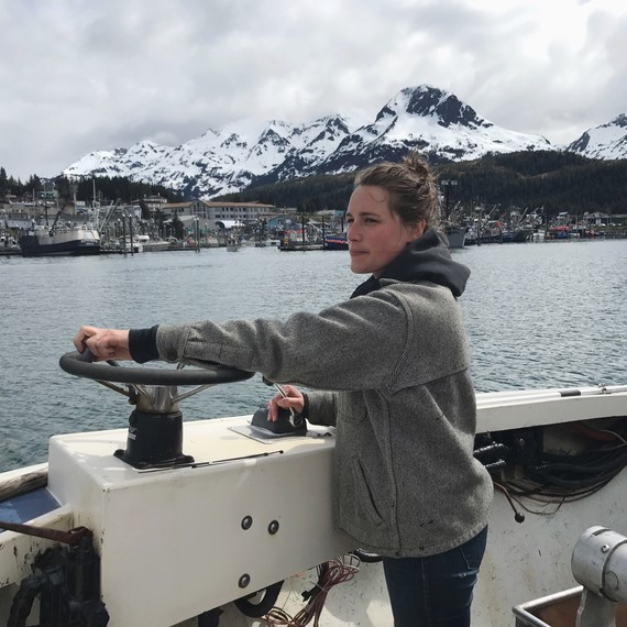 driving salmon fishing boat alaska