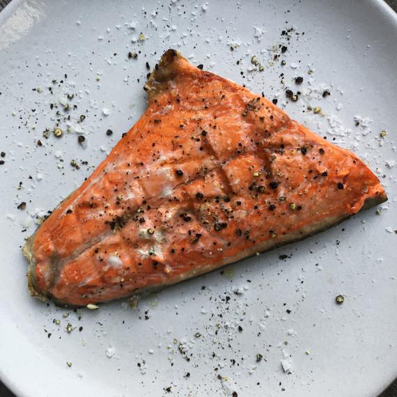 sockeye salmon cooked drifters fish