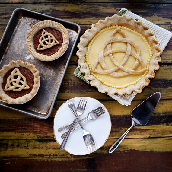 St. Partick's Day Celtic Knot Pie
