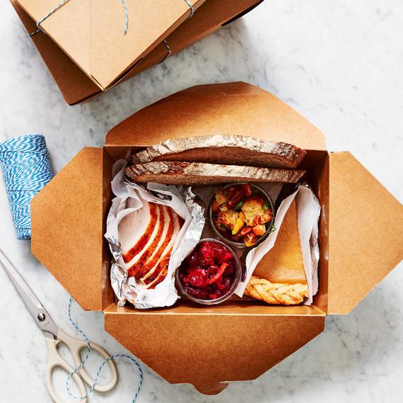 thanksgiving leftovers box