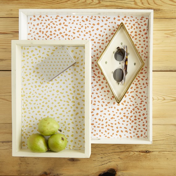 Chasing Paper decorative tray