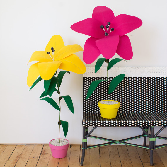 David Stark Design Oversized Fabric Flower