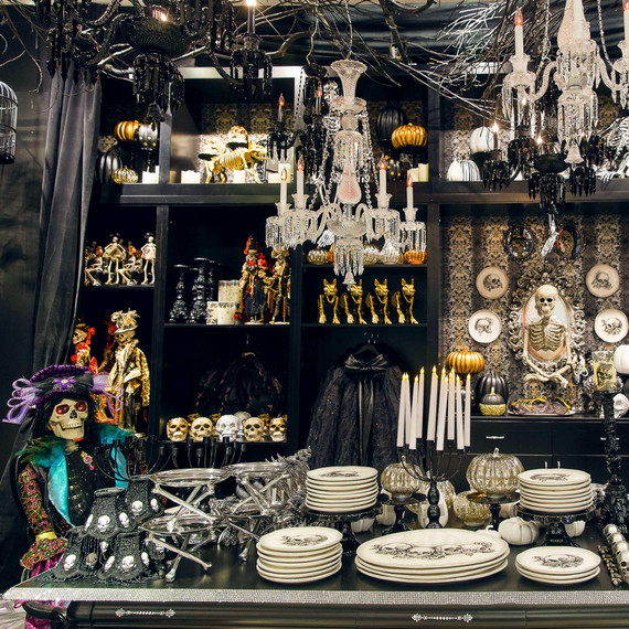 Grandin Road's Halloween pop-up shop at Macy's in Herald Square