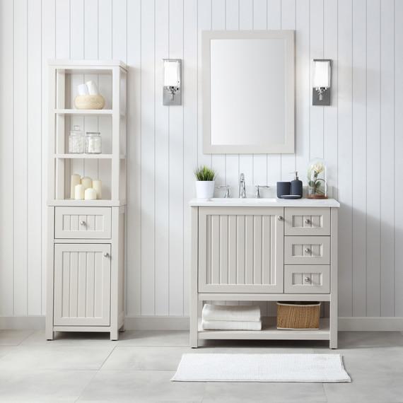 these bath vanities deliver on storage and style martha stewart rh marthastewart com Martha Stewart Living Bathrooms Martha Stewart Bathroom Vanity Faucet