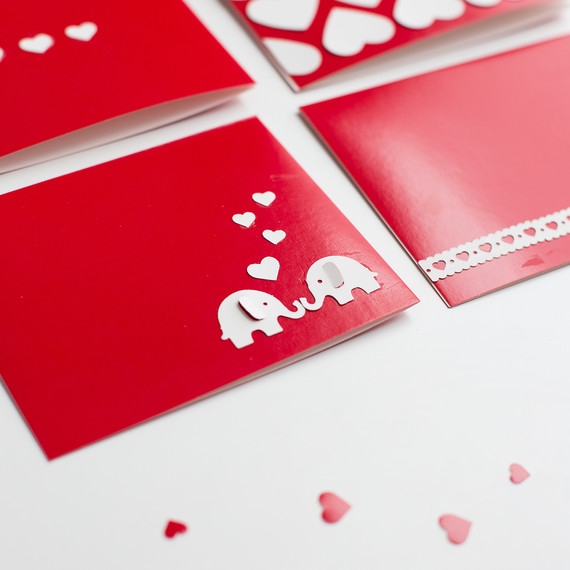 Last Minute Punch Valentines Cards 1073 2 (