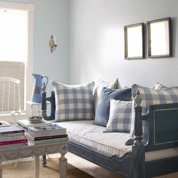 benjamin moore paint color combos blue