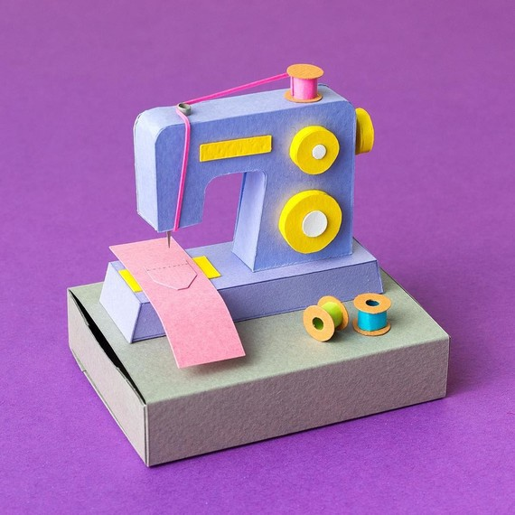 paper-crafts-mini-sewing-machine
