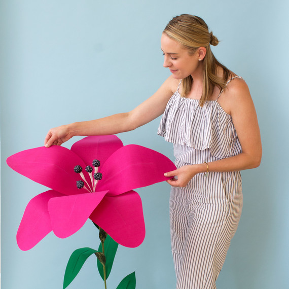 David Stark Design Oversized Flower
