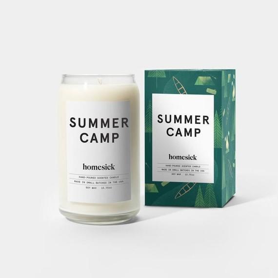"Homesick Candles ""Summer Camp"""