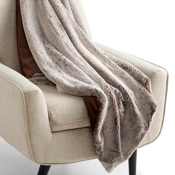 macys faux fur reversible throw blanket chair merch