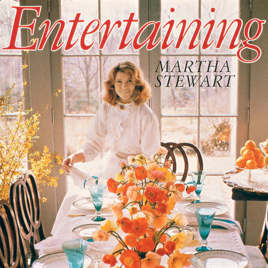 martha stewart entertaining book