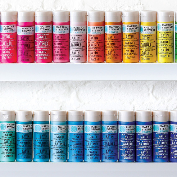 martha stewart paints colorful