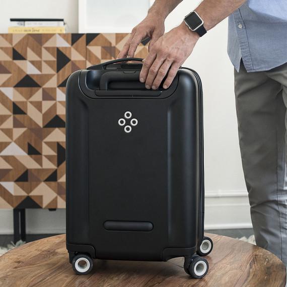 bluesmart black edition smart suitcase