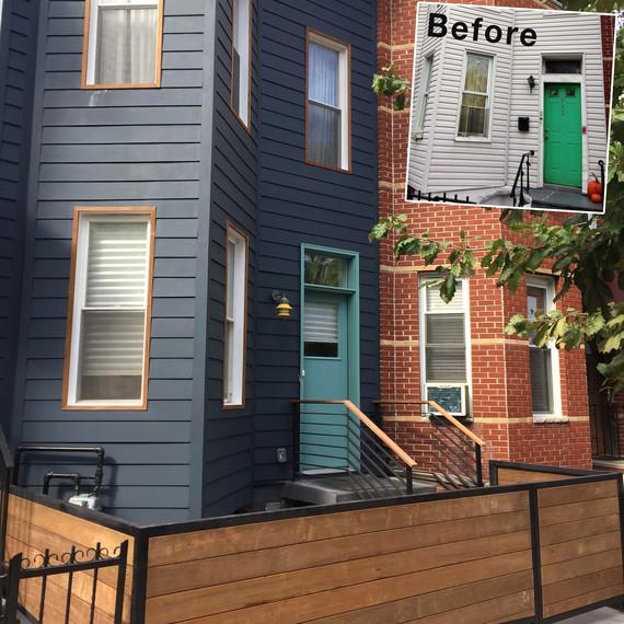 dania colorful home exterior redo