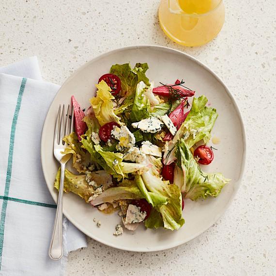 escarole beet cherry tomato salad