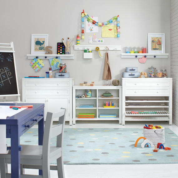 table craft everything you need for a kids craft room martha stewart