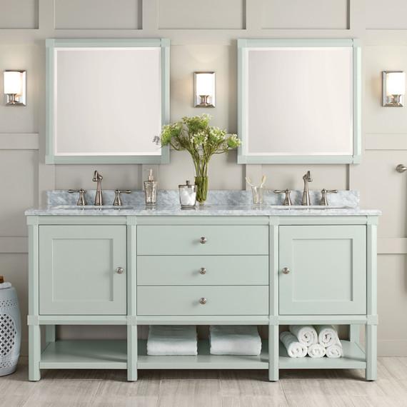 these bath vanities deliver on storage and style martha stewart rh marthastewart com Martha Stewart Bathroom Colors Bedroom Paint Colors Martha Stewart