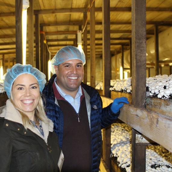 laura rege mushroom farm owner