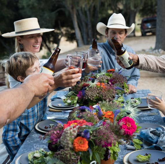 rancho san julian party cheers