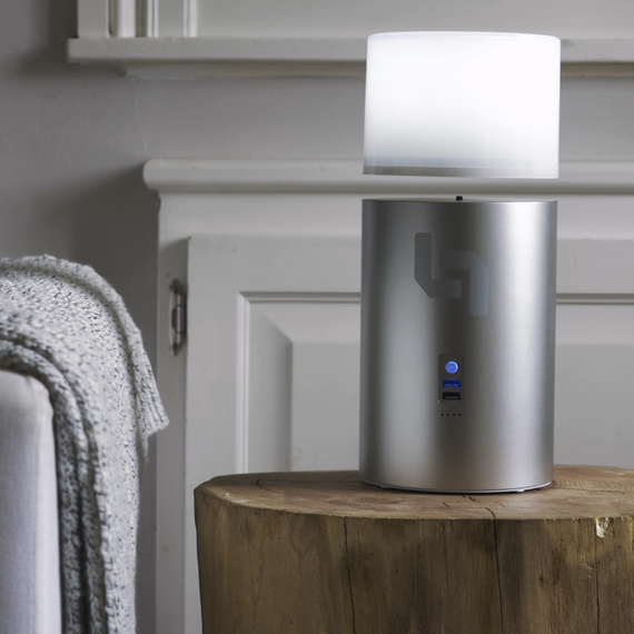 zero-gravity air lamp on Kickstarter