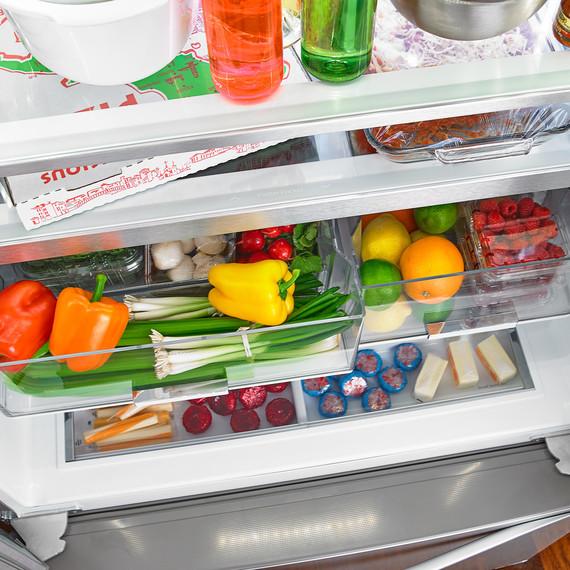 Amazing Produce Crisper Drawers Refrigerator