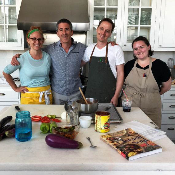 Chef Test Kitchen: Cooking Eggplant With Celebrated Chef Michael Solomonov