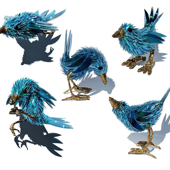 Sean Avery CD animal sculptures