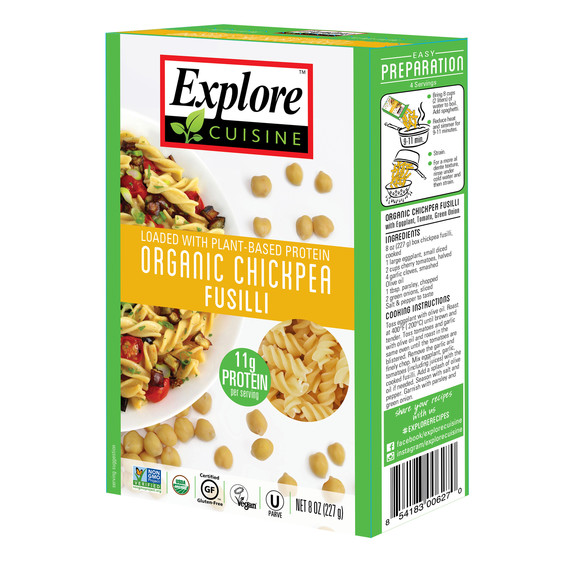 chickpea pasta explore food trend roundup