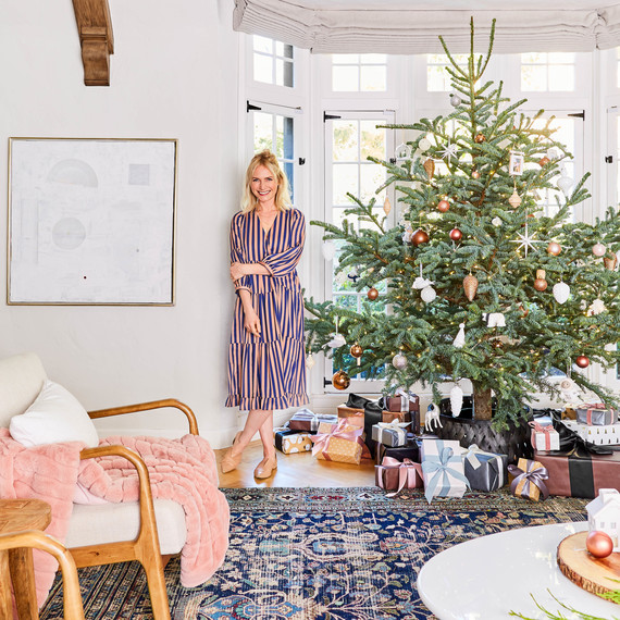 Designer Emily Henderson Reveals Her Gorgeous Holiday Decor