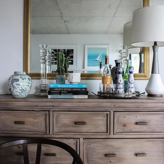 Gabrielle Savoie One Room Challenge Dresser